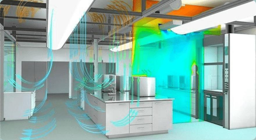 Проектирование вентиляции лабораторий